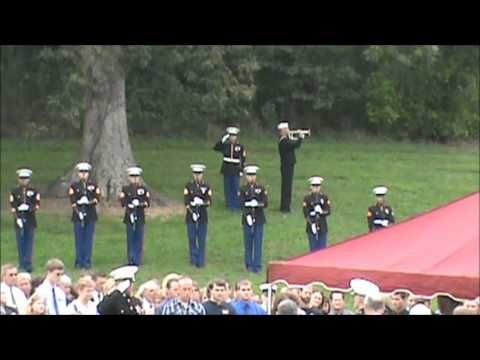 21 Gun Salute and TAPS for Lance Cpl Alec Terwiske - 9-14-2012