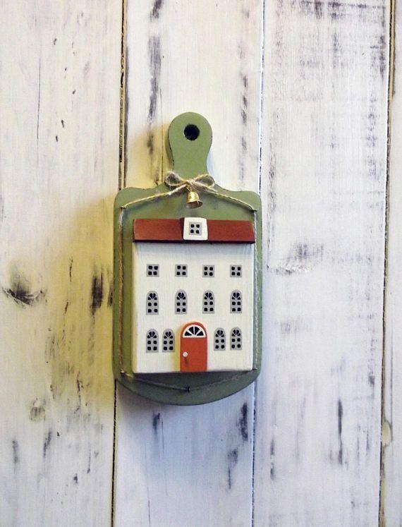 wood house home decoration Driftwood art  miniature wood