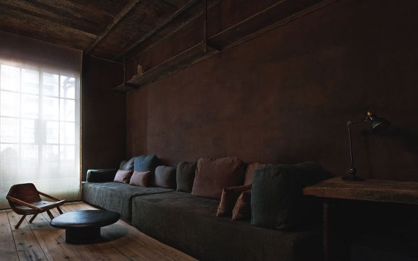 The Greenwich Hotel Penthouse by Belgian designer Axel Vervoordt and Japanese architect Tatsuro Miki