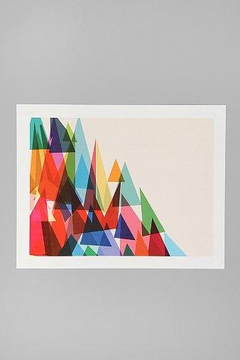 Mixed Shades Print: Wall Art, Urban Outfitters, Shades Prints, Mixed Shades, Art Prints, Urbanoutfitters Com, Urbanoutfitt Com, Cynthia Alvarez, Society6 Mixed
