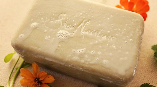 Shea Moisture masło Shea mydło naturalne  Shea Moisture Shea Butter Soap With Extracts of Frankincense and Myrrh