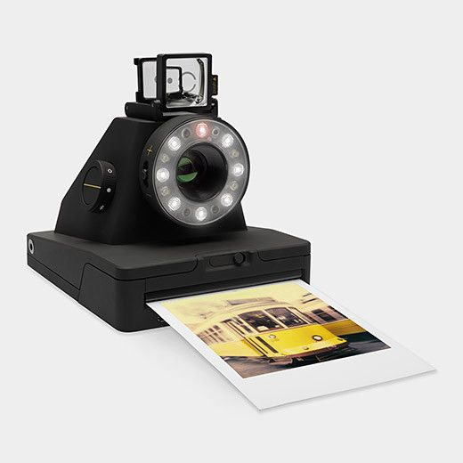The Impossible I-1 is a new analog instant camera for the original Polaroid format - the most advanced instant camera available today. Not only an easy to use point-and-shoot camera, it is also the on