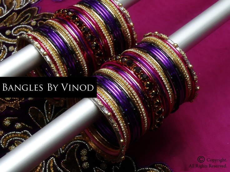 #indian #indianfashion #jewelry #indianjewelry #bangles #designs     http://www.facebook.com/pages/Bangles-By-Vinod/102401552246