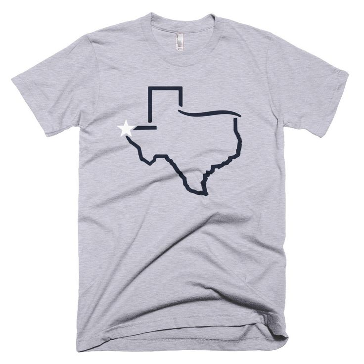 El Paso Texas - Blue on Orange UTEP - Unisex