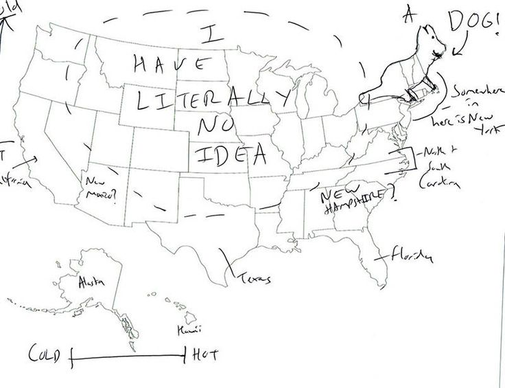 15 Best UK So Funny Images On Pinterest 50 States United States - Us Map Showing Only Names Of States