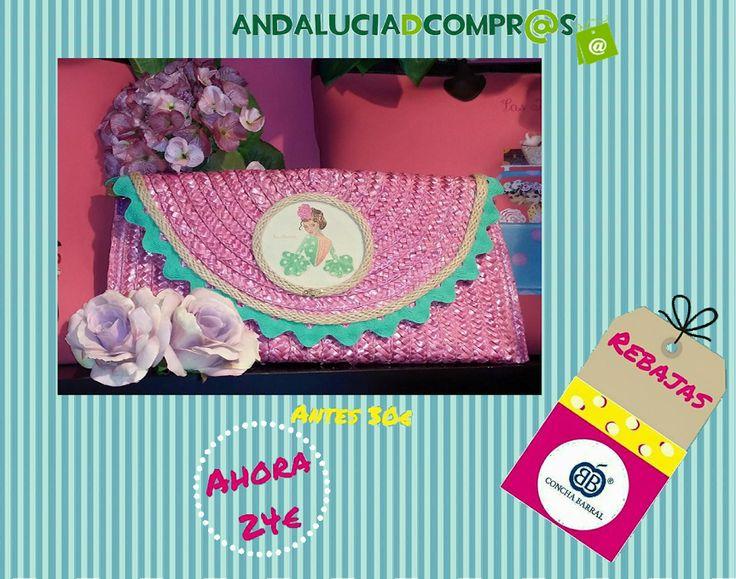 Descubre los mejores complementos y bolsos de moda con Concha Barral en su web de Andalucía de Compras. Cuidados detalles y calidad!  Disponible para ti y con importantes descuentos en https://www.andaluciadecompras.es/portal/web/concha-barral