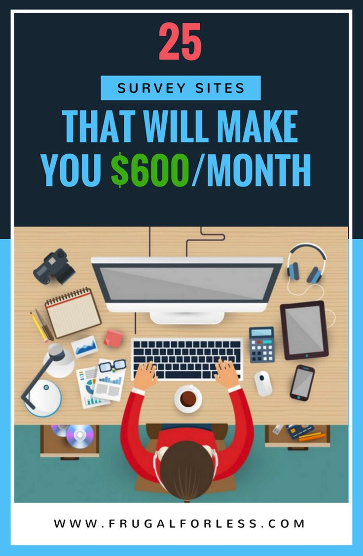 25 Survey Sites That Will Earn You $600+/Month or More in Extra Income