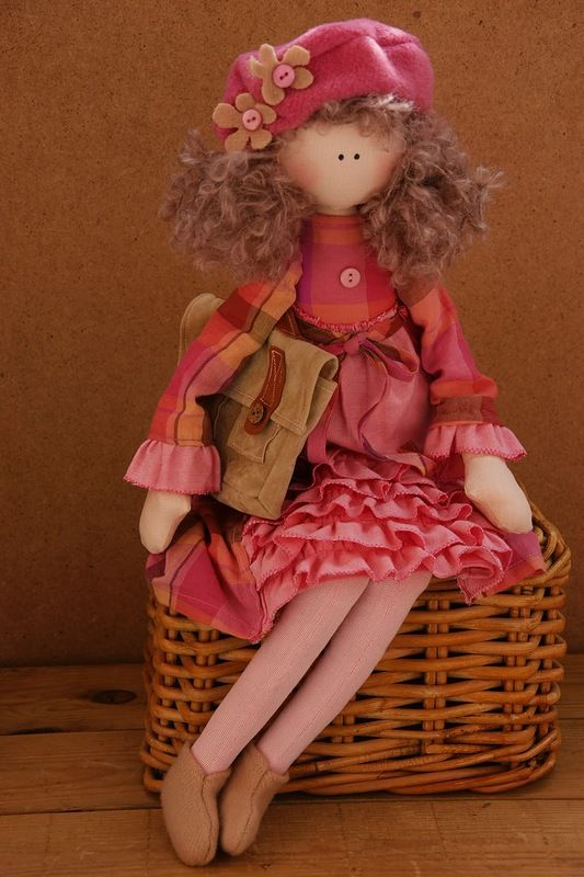 collection of dolls - May 7, 2013 - Tilda doll. Everything about Tilda, patterns, master classes.
