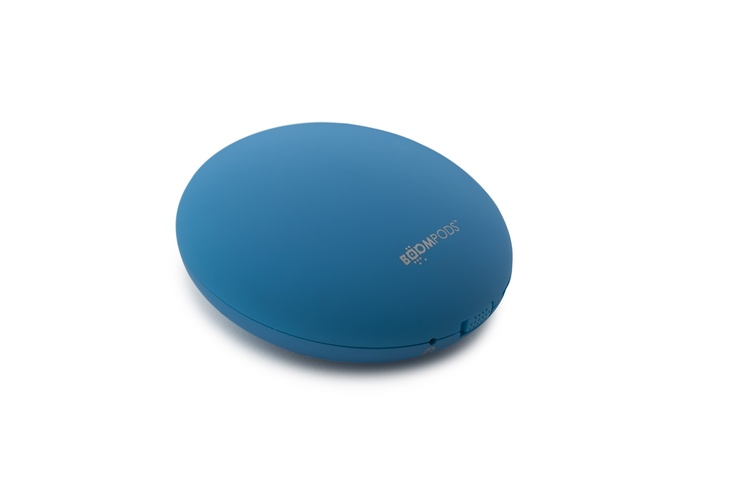 Downdraft-Blue-Matt-Bluetooth Speaker