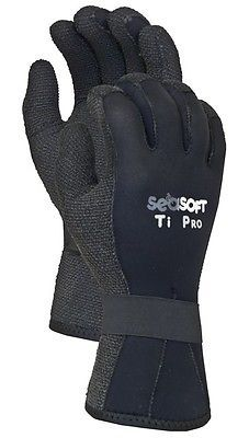 Gloves 114235: Seasoft Ti 5Mm Kevlar Gloves - Medium For Scuba, Snorkeling Or Water Sports -> BUY IT NOW ONLY: $49.97 on eBay!