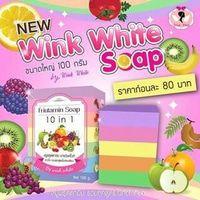 Best Fruitamin Soap 10 in 1 Wink/ White Sabun Gluta Vit & Nutrisi Buah