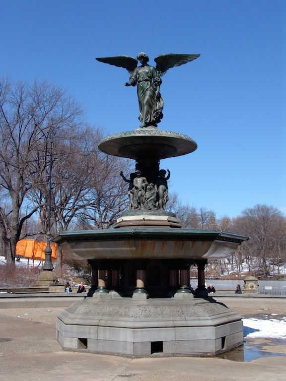 Angel of the Waters, New York