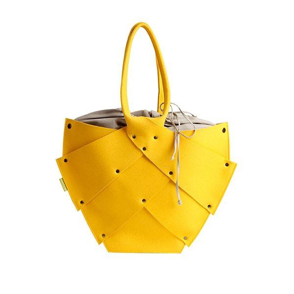 http://designersko.pl/boogiedesign-filcowa-torba-beetle - Filcowa torba Beetle - Boogie Design  #design #dizajn #lifestyle #bag #bags
