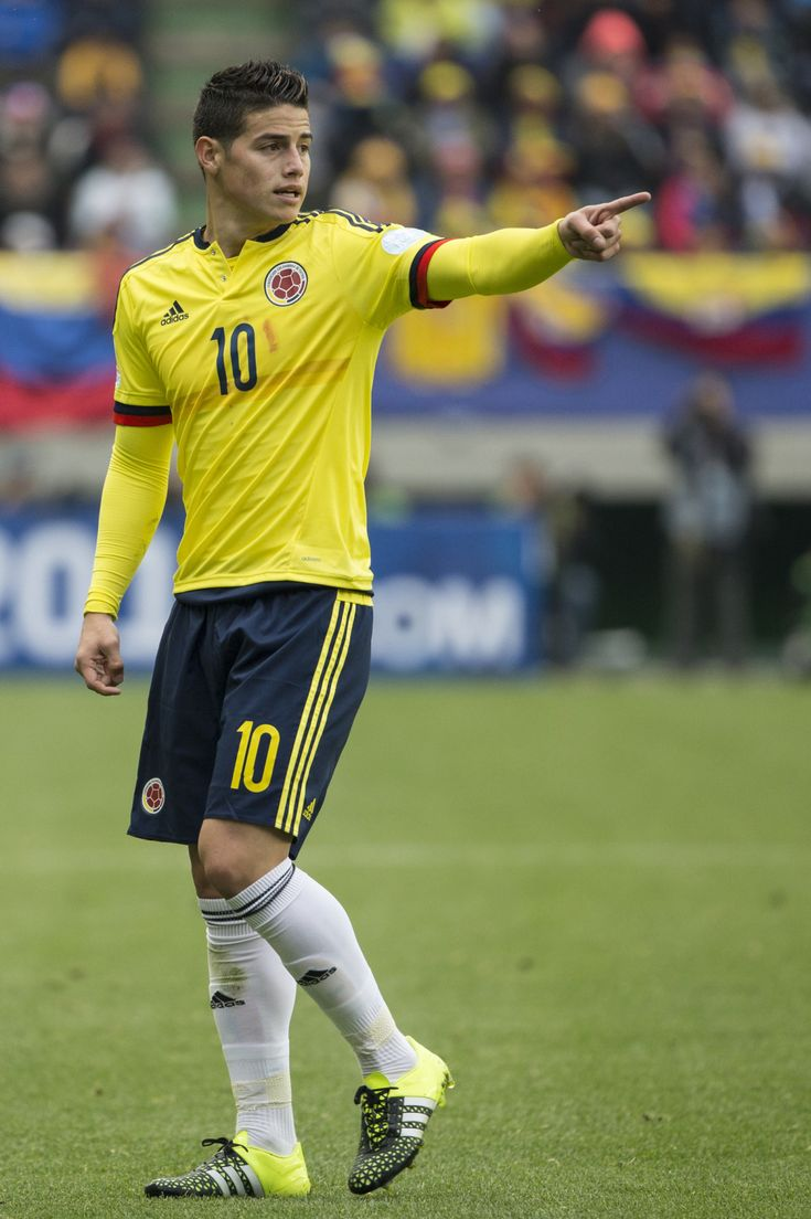 James Rodriguez during match vs Peru. Copa America Chile 21.6.15