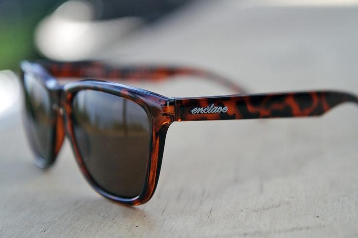 enclave sunglasses 20&20: tortoise