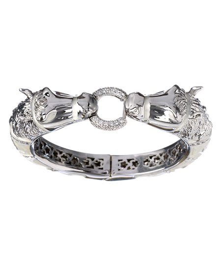 Lauren G. Adams Two Horses Bangle-I wish this were a ring! I would totally have it as my wedding band then
