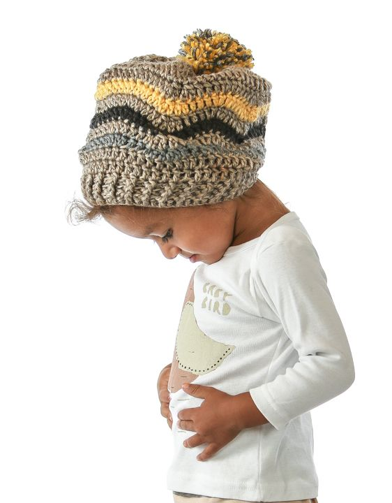 Mejores 19 imágenes de crochet hats en Pinterest | Gorro tejido ...