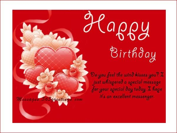 Birthday Greetings Messages And Birthday Wishes Messages, Greetings and Wishes - Messages, Wordings and Gift Ideas