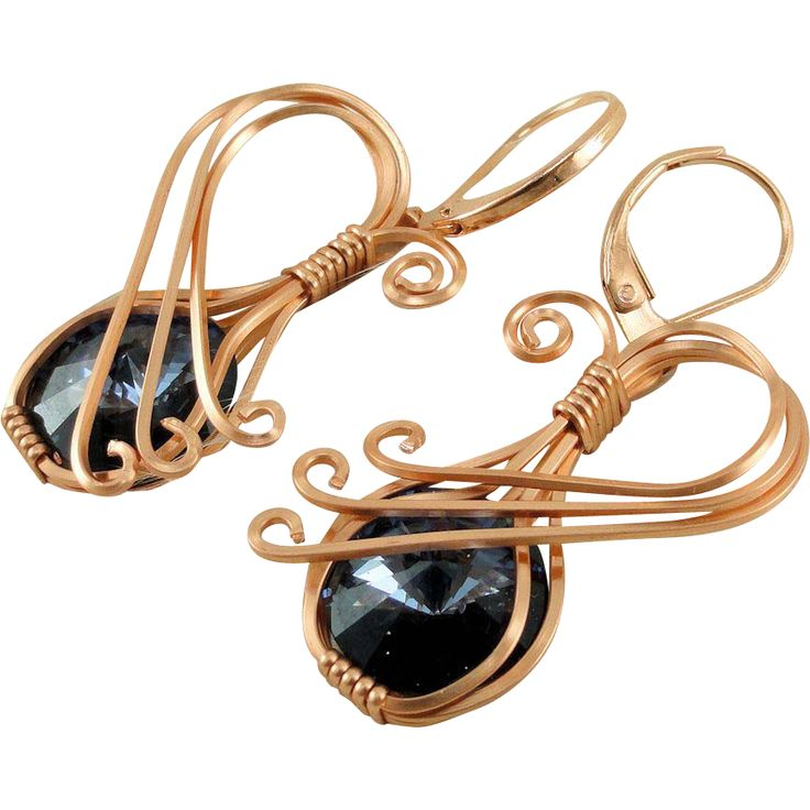 1346 best Wire Jewelries - earrings images on Pinterest | Jewelery ...