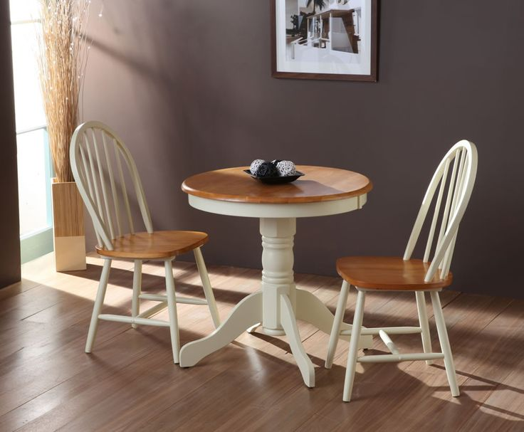 Small Round Wood Dining Table