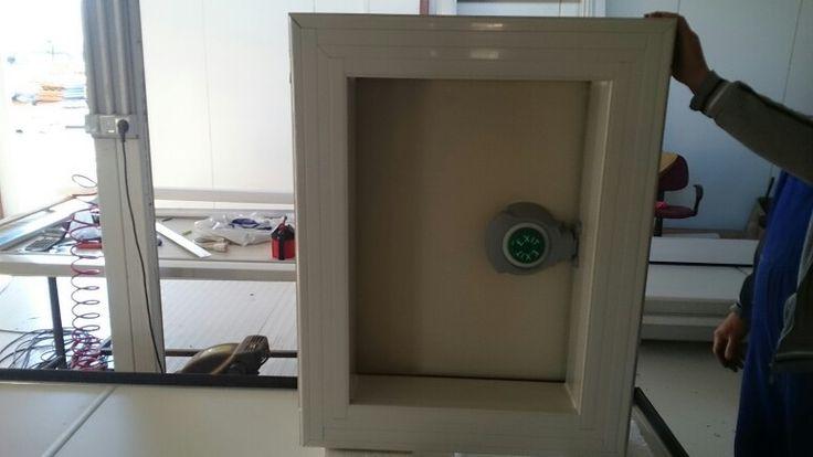 Small door backside