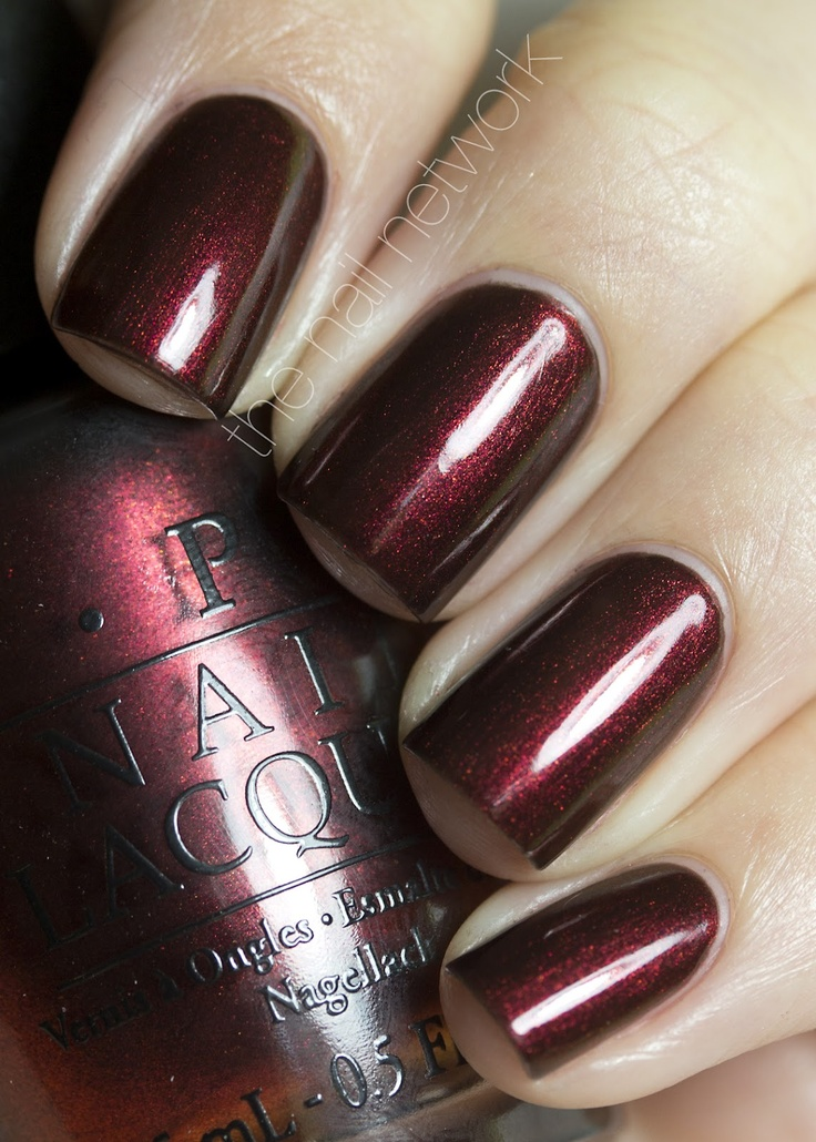 New from OPI's Germany collection, German-icure