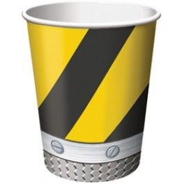 Construction Party Supplies, Construction Zone 9-oz Cups