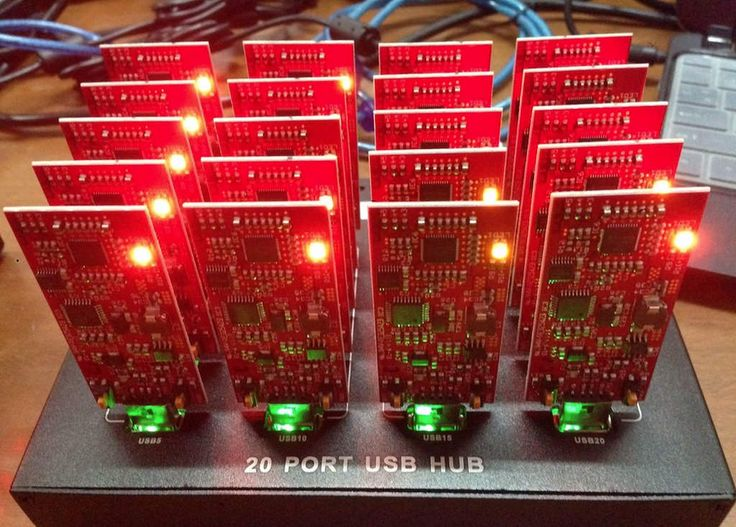 BitFury USB Bitcoin Miner - The most powerful USB miner available to date - Redfury USB Miner Production Day -