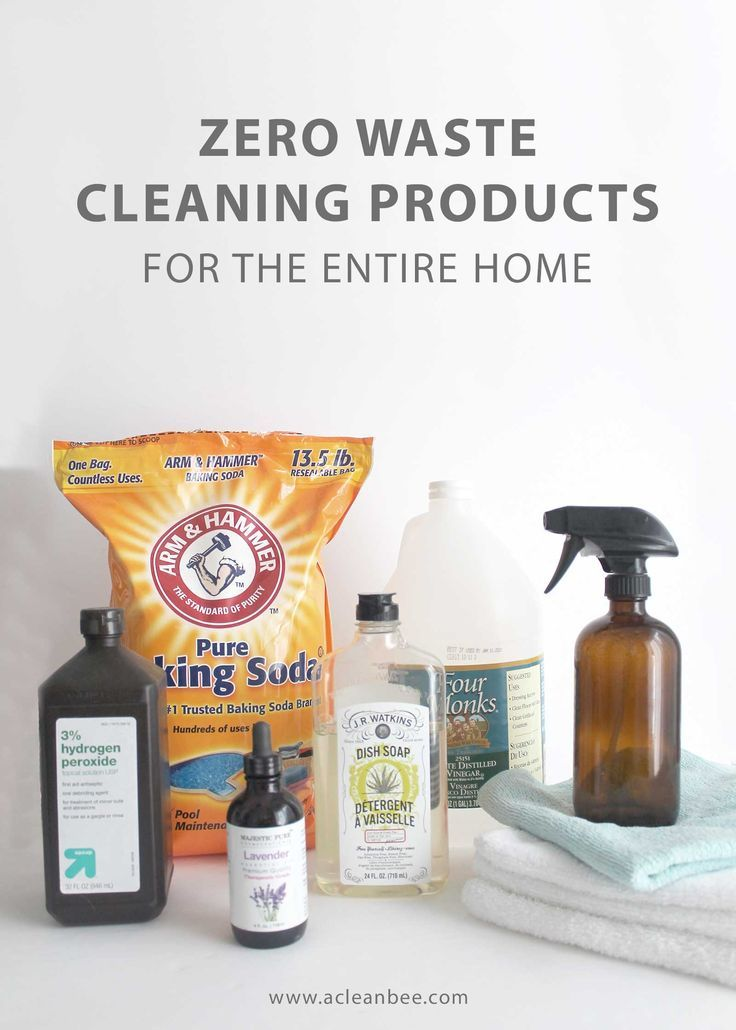 20 Zero Waste Cleaning Products For The Home Cleaning Recipes