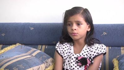 Menina de onze anos, posta vídeo no You tube que, denúncia casamento forçado por seus pais.