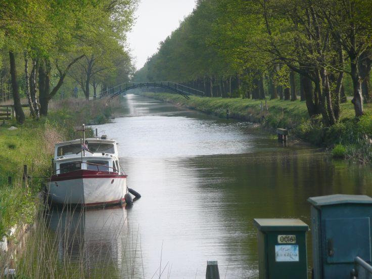 Scholtenskanaal. Dit deel maakt onderdeel uit van de nieuwe Veenvaartroute.