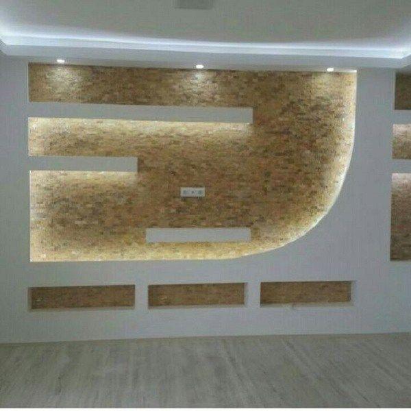 Rigips Ideen Wohnzimmer: Die 25+ Besten Tv Wand Trockenbau Ideen Auf Pinterest