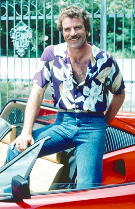 Tom Selleck in Mom Jeans, 1985