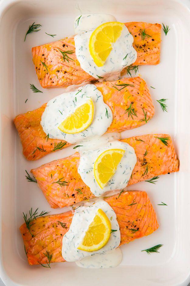 10 deliciosas maneiras de cozinhar filetes de salmão - casal mistério