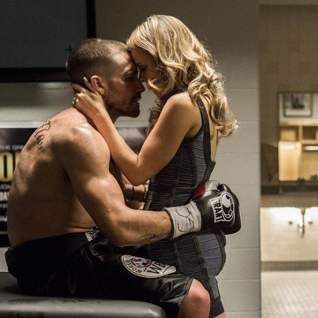 Scene from 'SOUTHPAW' Starring Rachel McAdams, Jake Gyllenhaal & Forest Whitaker ♡♥♡♥♡♥  #movies #film #Southpaw #RachelMcAdams #JakeGyllenhaal