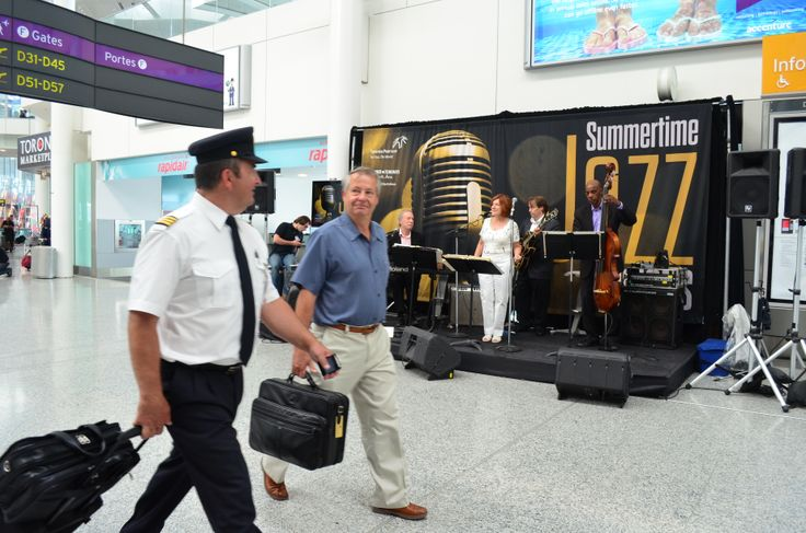 From June 28-August 30, passengers in Terminal 1, Domestic Departures were treated to the musical stylings of a different local jazz artist each Friday from 3-5 p.m. #JazzFridays