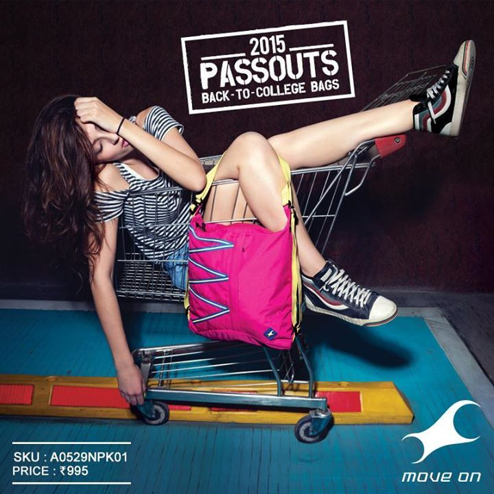#Passouts bags from Fastrack, prepared for wherever you might nod off. www.fastrack.in/passouts