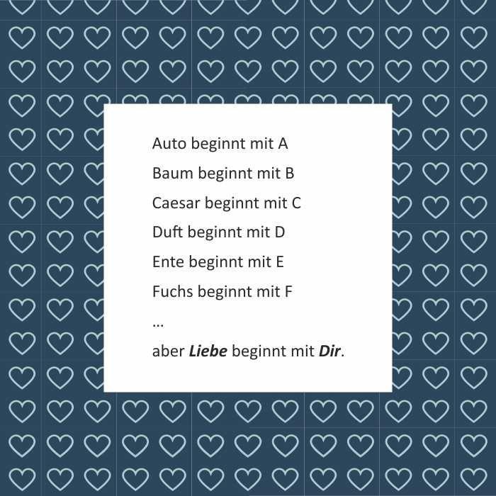 Valentinstagssprüche Schöne Liebessprüche Valentinstagskarten