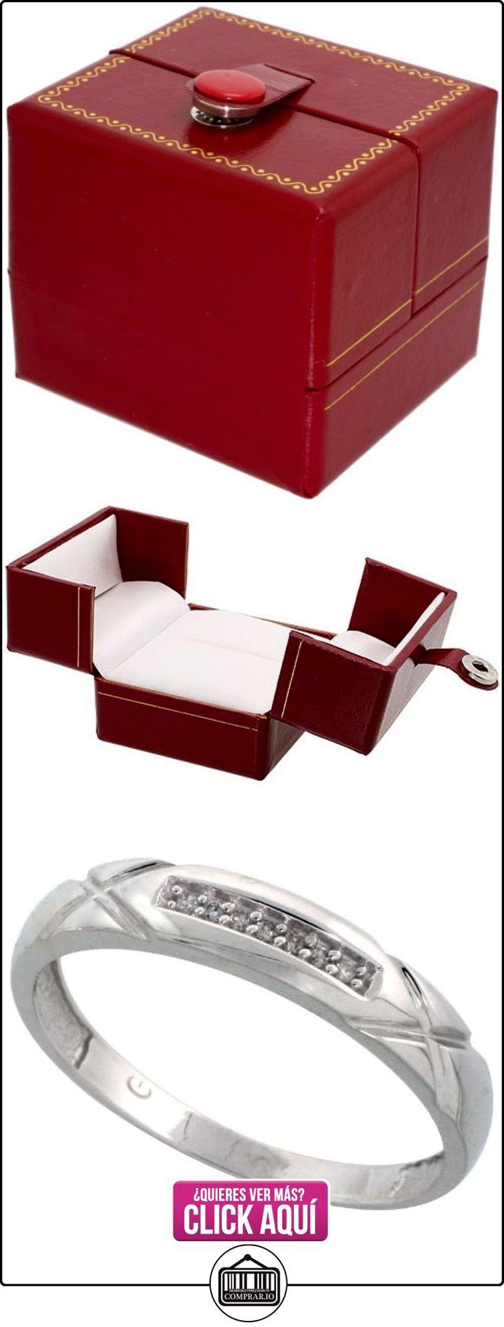 Revoni - Juego de alianzas de oro blanco  ✿ Joyas para hombres especiales - lujo ✿ ▬► Ver oferta: http://comprar.io/goto/B005M3B4KA