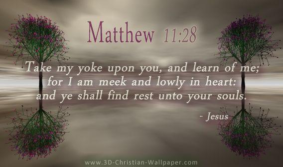 Matthew 11:28 – #Enc...
