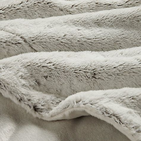 John Lewis Two-Tone Plush Fleece Throw.  Tbh you can never have enough throws