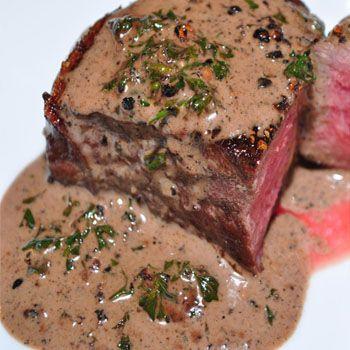 Amazing recipe! Peruvian Pepper Steak (Lomo a la Pimienta), I add mushrooms.