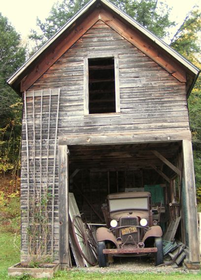 Old Barn Garage : Barn with old truck in it we re ya born a or