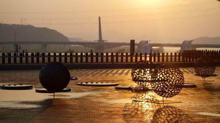the arc Dalseong gun, Daegu