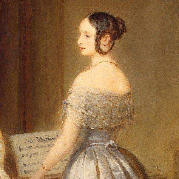 Painting of Grand Duchess Alexandra Nikolaevna Romanova of Russia (24 June 1825…