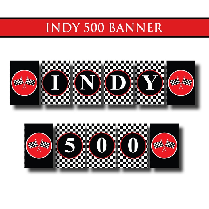 11 best Indy 500 Party images on Pinterest | Birthday ideas, Books ...
