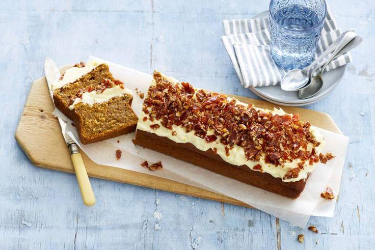 De zoete smaak van pompoen past perfect in deze cake - Recept - Pompoencake - Allerhande
