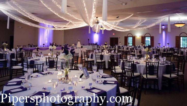 Purple up lighting. Columbus Ohio Wedding Reception Venues | #Brookshireweddings