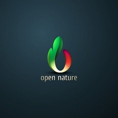 Open #Nature #Logo <<< repinned by www.BlickeDeeler.de