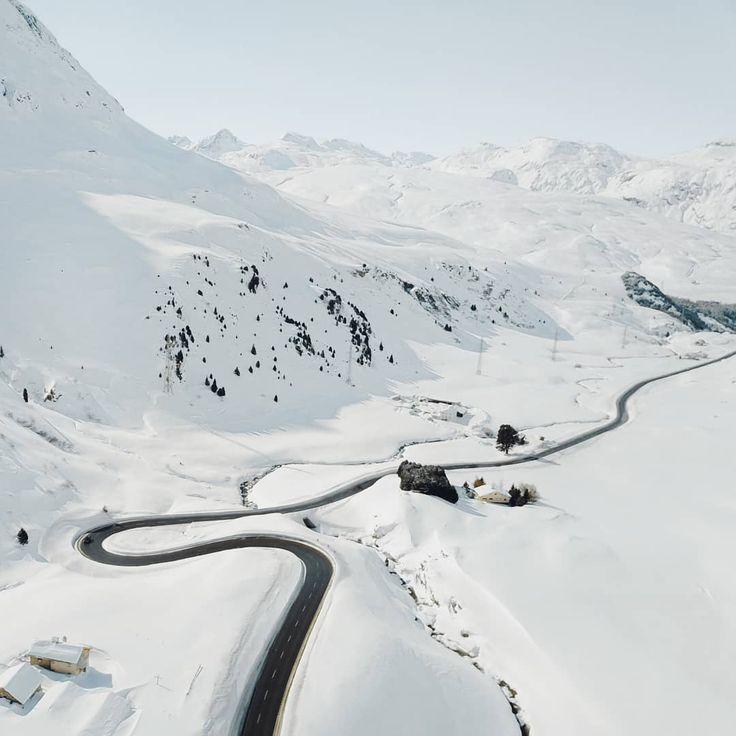 Julier Pass, Switzerland  #Regram via @unamarinella